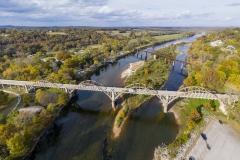 Cotter bridges over the White River Arkansas